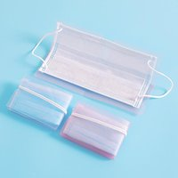 Storage Bags 10pcs Foldable Temporary Mask Multi Color Portable Safety Box Clip Container Safe Pollution-Free