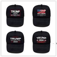 الصيف الأمريكية الانتخابات الرئاسية النسائية الرجال الكرة الأسود قبعات ترامب 2024 رسائل المطبوعة السفر في الهواء الطلق الرياضة قناع الشمس القبعات OWC74