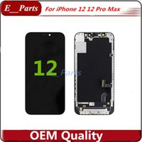 Fully Original OLED LCD Display Phone Touch Panels Assembly For iPhone 12 & 12Pro Max Replacement Repair Parts Free DHL