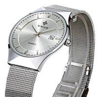 Armbanduhren 2021 top wwoor ultradünne meshband mode männliche armbanduhr business herabsuhren quarz wasserdichte männer watch cronc