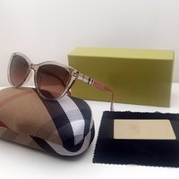 3747 Accesorios de Moda Moda Moda Gafas de sol Mujer UV400 Marco completo Rosa Rosado Gafas Cat Eye Lujos Diseñadores Gafas de sol Regalo