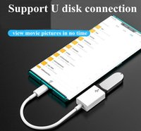 كابل البيانات Type-C 3.0 USB C إلى محول OTG اتصال الهاتف لوحة المفاتيح ماوس كاميرا U قرص الصوت بطاقة