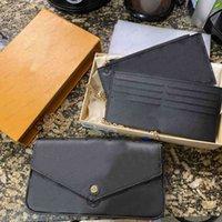 3 pezzi borse da sera con scatola moda sella borse da donna a spalla a tracolla portafoglio portafoglio telefono presbyopic mini messenger cartoncino porta