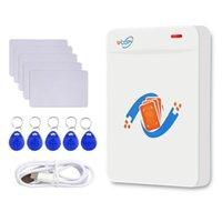 Keychains RFID Copier Duplicator Reader Writer 125kHz 13.56MHz PROGRAMME USB KEY FOBS UID T5577 Support réinscriptible Téléphone NFC