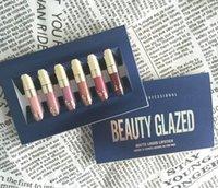 Lip Gloss Cosméticos Edición de cumpleaños 6 PCS SET MATE LÍQUIDO LIQUIDOCK ORIGINAL Maquillaje Lipgloss Kit de entrega rápida