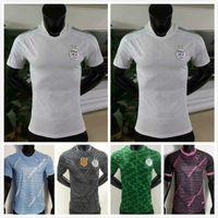Maillot Cezayir 2021 2022 Cezayir Çalar Version Futbol Jersey Mahrez Atali Feghouli Slimani Brahimi Futbol Gömlek MAILLOYS DE