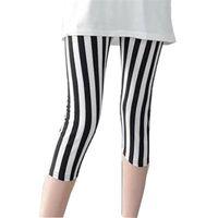Fitness Deportes Floral Impresión Leggings Mujeres de alta calidad Capris Lady Elastic Pantalones cortos Sweetpants Negro Swey Tamaño Pantalones de mujer