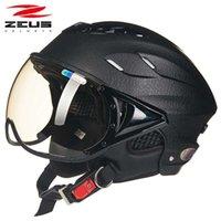 제우스 여름 헬멧 오토바이 헬멧 슈퍼 통기성이 줄 지어 UV 헬멧 ZS-125B Q0630