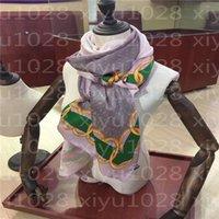65-180cm 새로운 브랜드 여성 수석 긴 이중 시폰 실크 숄 7 색 패션 관광 소프트 디자이너 럭셔리 선물 스카프 인쇄 스카프