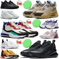 270 react eng erkek kadın koşu ayakkabıları neon üçlü siyah açık mens bayan eğitmenler spor sneakers koşucular