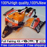 Fallings for Honda CBR 600F2 600 F2 FS CC 600CC 600FS 91-94 Bodywork 34no.0 CBR600CC CBR600F2 91 92 93 94 CBR600 F2 CBR600FS 1991 1992 1993 1993 1994 OEM Bodys Repsol Orange