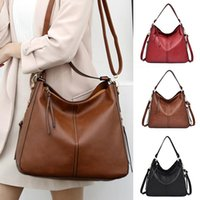 Women's Leather Shoulder Bag With Detachable Strap PU Messenger Large Capacity Zipper Solid Color Bolsa Feminina Clutch Bags
