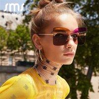 Sen Maries F New Cross Cat Eye Sunglasses Mulheres Colorido Personalidade Tendência Moda Gradiente Óculos De Sol Homens Senhoras Eyewear UV400