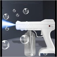 Otra organización de limpieza 800ml Pistola de pistola de rociado inalámbrica con cargo 500 ml Esterilizador azul RAY NANO DISINFACTOR PRIMERSIÓN FS9001 1FPE0 7SovJ