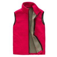 Winter Fleece Vest Women Outwear Casual Warm Cardigan Womens Coat Jacket Basic Gilet Chalecos Para Mujer Women's Vests