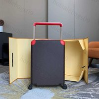 Travel Suitcases Luggage Fashion luxury Classic Men Women Trunk Bag Flowers Letters print Baggage Trolley case Spinner Universal Wheel