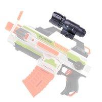 Tactical LED Brightness White Light Flashlight For Nerf Accessory Kids Toy