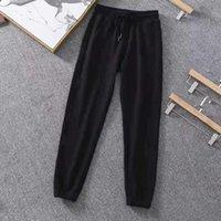 Designer Monclair Mens Pantaloni Streetwear Asiatico Coulisse Sweatpants Donna Pant Felpe di lusso