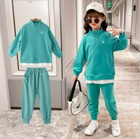 Kids Tracksuit 2021 Spring Girls Costume Children Clothing Set Hoodie Pants Sport Suits For Clothes 6 8 10 12 Years Sets