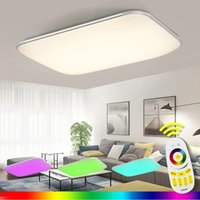 Modern LED Ceiling Light With 2.4G RF Remote Group Controlled Dimmable Color Changing Lamp For Livingroom Bedroom AC90-265v