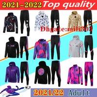 2021 Париж Футбол Hoodie Coussusit Куртка для выживания 20/21 MBAPPE ICARDI Футбол с капюшоном Куртки с капюшоном Тренировка Chandal Futbol