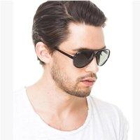 2020 Lunettes de soleil Sports Unisex femmes hommes Unisexe UV400 lunettes de soleil miroir pilote lunettes de lunettes de conduite de conduite de conduite oculos 4125