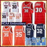Stephen 30 Curry Ncaa Kevin 35 Durant Jersey 32 Jimmer Fredette Brigham Jovens pumas de basquete jerseys homens baratos atacado