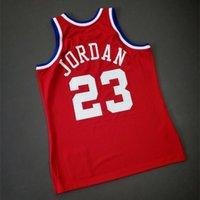 Benutzerdefinierte 009 Jugendfrauen Vintage Michael Mitchell Ness 1989 All Star College Basketball Jersey Größe S-4XL oder benutzerdefinierte JEDE NAME ODER NUMMER JERSEY
