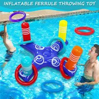 Pool & Accessories 2021 Inflatable Ring Throwing Ferrule Toss Game Toy Kids Outdoor Beach Fun Summer Water NOV99
