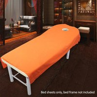 Sheets & Sets Microfiber Comfortable Wrinkle Resistant Polyester Salon Massage SPA Bed Sheet Couch Home Soft Bedding Article Plain Table Cov
