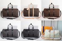 Bandoulière 45 50 55 cm Sacs Duffel Sacs Femmes Voyage Sacs à main Luxurys Designers Sac à bandoulière pour hommes Roulés classiques Souffle Subcase Subscase Set