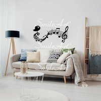 Wall Stickers Music Decorative Sticker Home Decor For Kids Rooms Mural Custom