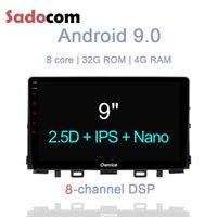 "Player DSP 9 ""1 DIN Android 9.0 автомобиль DVD 8 Core Core 32GB ROM 4 ГБ Wi-Fi GPS Radio DVR камера TPMS OBD2 для Kia Rio 2021 -"
