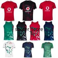 Nuevo 2020 2021 británico leones irlandeses rugby jersey 20 21 británico leones rugby hogar entrenamiento camisa camisetas de hombre Tamaño S-5XL