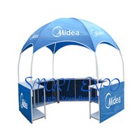 10x10ft Marquee Tent for Outdoor Branding Advertising Display with Custom Full Color Printing Graphics