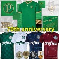 21/22 Palmeiras Soccer Jerseys 70th Anniversary Dudo G.Jesus Jean Alecsandro 2021 2022 Allione Cleiton Xavier Libertadores نهائيات الرجال + أطفال طقم كرة القدم