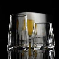 Wine Glasses 360ml Transparent Glass Coffee Cup Handmade Beer Mug Tea Whiskey Cups Heat Resistant Cocktail Vodka Drinkware