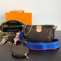 LOUISLV2021 handbag High Quanlity bags women handbags Paris Sale 3 piece set bag purses lady tote Coin Purse three item WHL