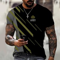 Men's T-Shirts Novelty Design 3D Printed T-shirt Funny Breathable Casual Street Hip-hop Personality Unique Shirt
