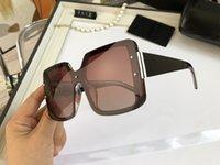 Oversized Square Sunglasses Women Big Frame UV400 Sun Glasses Metal Hinge Oculos Luxury Designer Sunglasse for Womens 7112