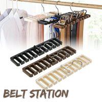 Drying Rack Large Belt Storage Hanging Tie Shelf Silk Scarf Hanger Finishing Wardrobe @LS Hooks & Rails