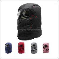 Protective Gear Cycling Sports Outdoorscycling Caps & Masks Cap Warm Winter Men Original Design Hats For Women Waterproof Hood Hat1 Drop Del
