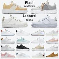 Nike air force 1 af1 Pixel dunk zapatos para para hombre Estampado de leopardo Sail Snake negro blanco Ghost shadow reaccionar dunks N354 Plataforma mujeres zapatillas deportivas