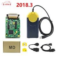 MultiDiag J2534 في المخزون متعدد دياغ V2021 متعددة دياغ واجهة واجهة OBD2 أدوات تشخيص الجهاز