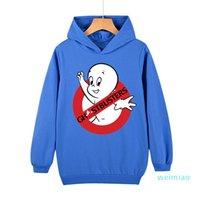 Primavera per bambini / Autunno Top Pullover Felpa con cappuccio Ghostbuster Stampa Abbigliamento per bambini Sport Tempo libero Trend