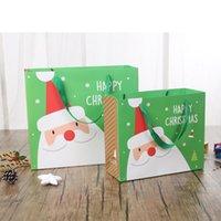 クリスマスのお土産バッグサンタクロース漫画パターンギフトハンドバッグeクリスマスパーティーの装飾用品カプチョウ包装CAS HHF9660