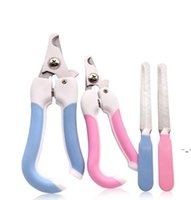 Pet Grooming Scissors Dog Cats Supplies Pet Nail Clipper Pet Accessories Animal Trimmers Nail File Claw Cutters Cut The Nails OWF6228