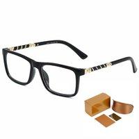 Luxus-Serie Mann-Brillen Harry Potter derselbe Stil ohne degrad transparente Linse Mode Top Qualität High-End-Frauengläser mit vollständiger Verpackungsbox