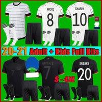 Männer + Kids Kit 2021 Deutschland Havertz Soserys 21 22 Gundogan Hummels Gnabry Werner Kroos Kimmich Goretzka Muller Football Hemd Fans Spieler S-4XL