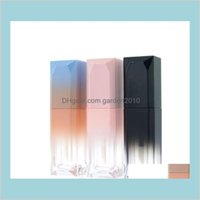 Packing Bottles & Office School Business Industrial 5Ml Gradient Color Lipgloss Plastic Box Containers Empty Clear Tube Eyeliner Eyela
